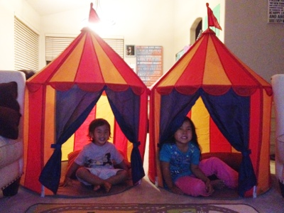 The Sweetest Deal from IKEA – play tent {video}