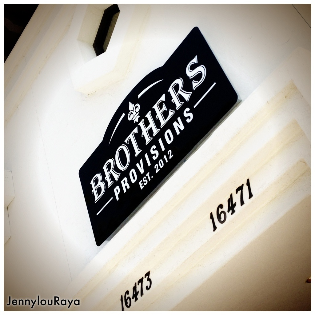 Eats at Brother's Provisions