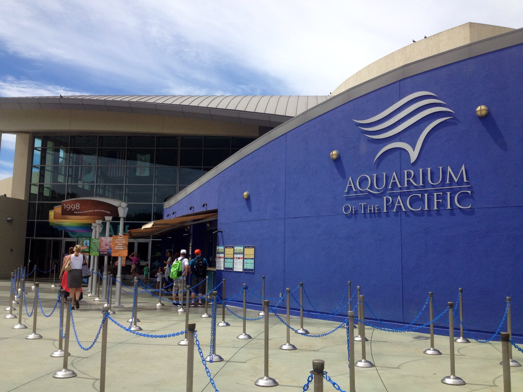 Aquarium of the Pacific for 1st day of School