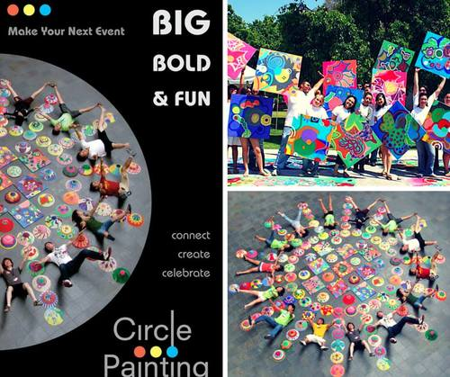Circle Painting EXPO Day Petco Park