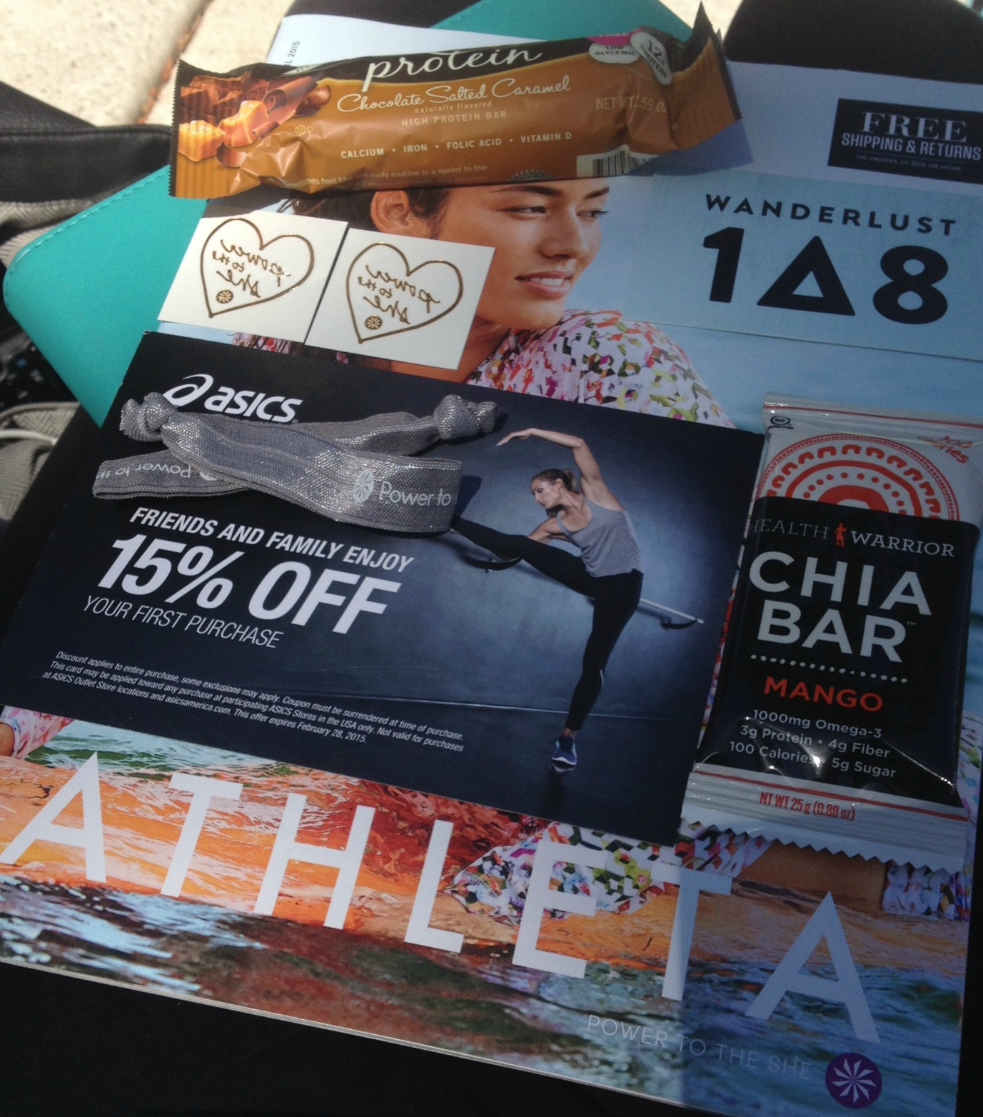 Athleta Goodie bag