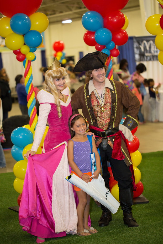 Kidsfest  Sleeping Beauty and Pirate Characters