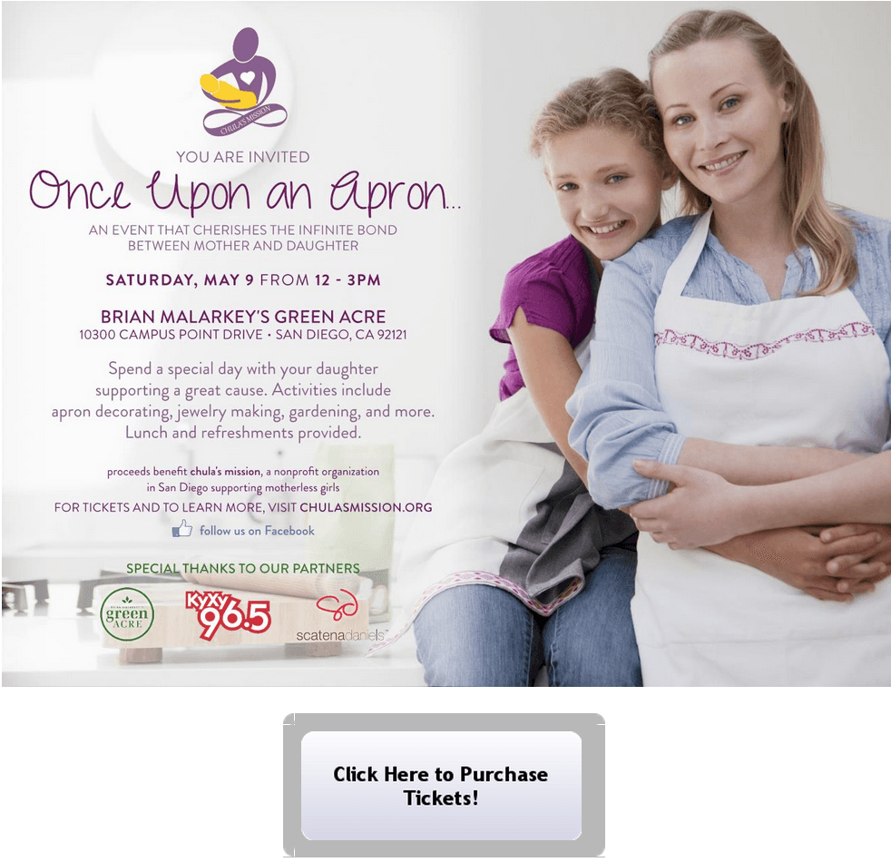 Once Upon An Apron Chula's Mission