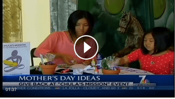 Chula's Mission Mother's Day News Clip