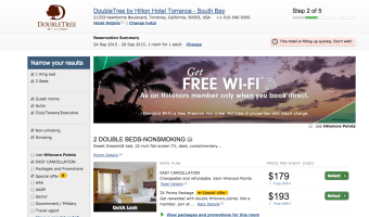 Hotwire Scam $254 Torrance Hotel is Really $179 Hotel. Uses Miyako Hotel for Bait