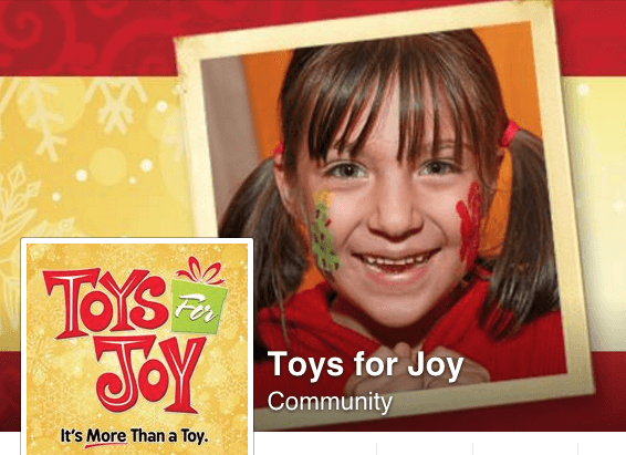 Toys For Joy : Ways your family can give back to the community this