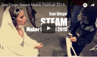 {Vlogmas Day 5 } San Diego Steam Maker Festival 2015
