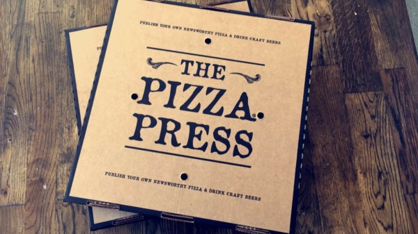 Pizza Press To Go Boxes