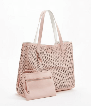 Trace Blush Bag Just Fab