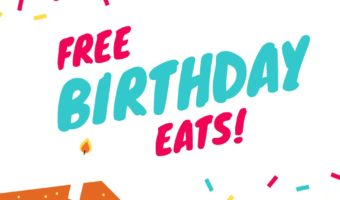 Free Birthday Food – March 2017