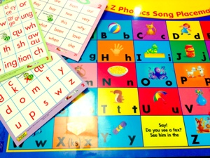 sing spell read and write alphabet