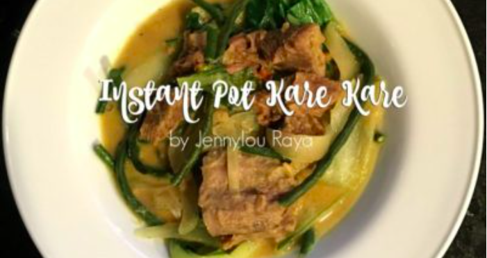 Making Kare Kare in the Instant Pot • What Says You, Jennylou?